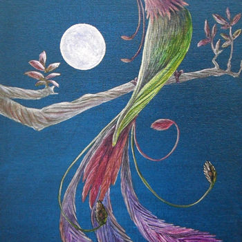Bird Painting, artwork by Victoria Armstrong