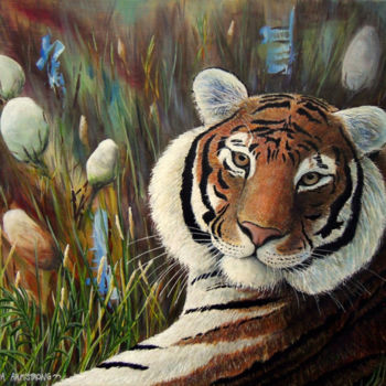 Painting, acrylic, artwork by Victoria Armstrong