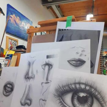 Drawing, graphite, hyperrealism, artwork by Victoria Wallace