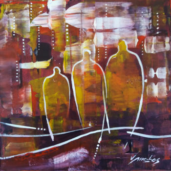 Painting, acrylic, abstract, artwork by Vitor Moinhos