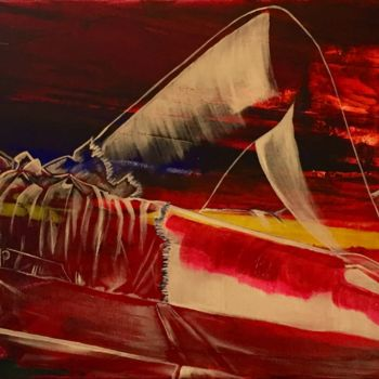 Painting, acrylic, conceptual art, artwork by Xale