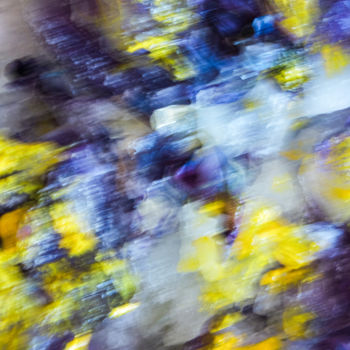 """Photography titled """"YELLOW FLORAL"""" by Yana Yushkevich, Original Art, Digital Photography"""
