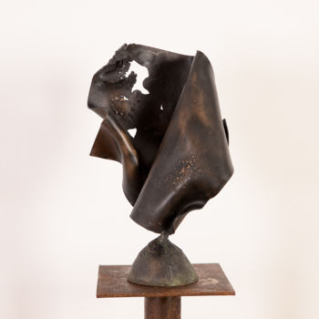 Sculpture, metals, abstract, artwork by Antonio Zamariola