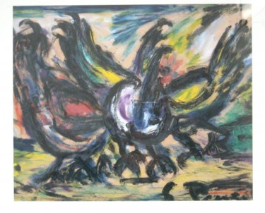 15.8x19.7 in ©1960 by -152