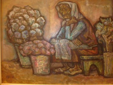 19.7x35.4 in ©1980 by -726