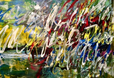 """Painting titled """"Ohne Titel 29"""" by Andreas Skiba, Original Art, Acrylic"""