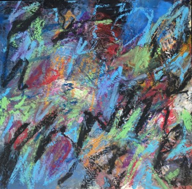 """Painting titled """"Ohne Titel 30"""" by Andreas Skiba, Original Art, Wax"""