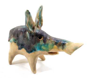 Sculpture, ceramics, naive art, artwork by Aare Freimann
