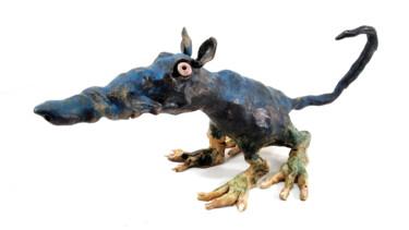 Animal Sculpture, ceramics, naive art, artwork by Aare Freimann
