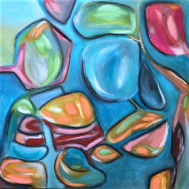Color Painting, acrylic, abstract, artwork by Assia Assameur (ASSAMAS)