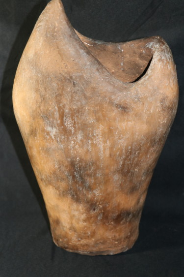 Abstract Sculpture, clay, outsider art, artwork by Anthony Barraud