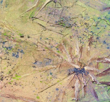 """Painting titled """"SACRED JUNGLE"""" by Anne-Claire Dutel-Grimard, Original Art, Acrylic"""
