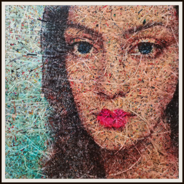 """Collages titled """"It must be more (n.…"""" by Alessio Mazzarulli, Original Art, Acrylic"""