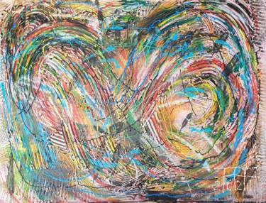 """Painting titled """"In the eye of the s…"""" by Adel Fahmi, Original Art, Acrylic"""