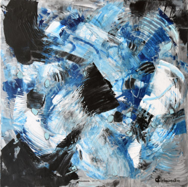 Color Painting, acrylic, abstract, artwork by Adelacreative