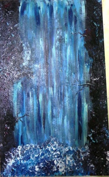 Painting, acrylic, abstract, artwork by Adrita Biswas