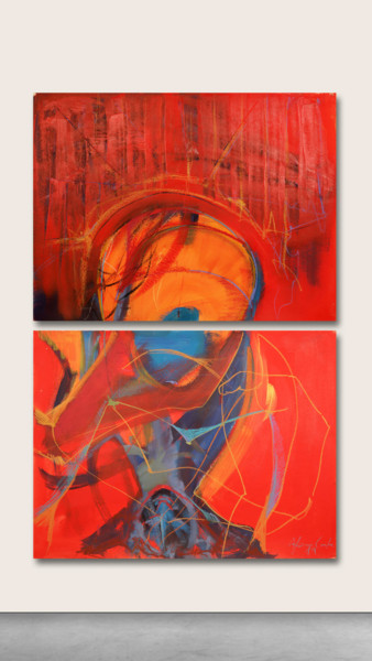 Painting, acrylic, abstract, artwork by Afonso Costa