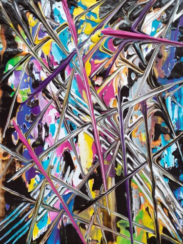 """Painting titled """"Space"""" by Acj, Original Art, Acrylic"""