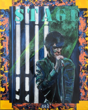 """Painting titled """"""""STAGE"""""""" by Alain Granger (A.G.R), Original Art, Acrylic"""