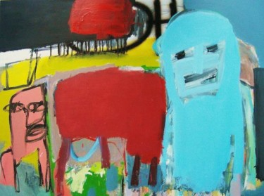 """Painting titled """"Aspects of a Certai…"""" by Alan Taylor Jeffries, Original Art, Oil"""
