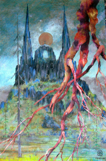 35x23,2 in ©2009 por Alberto Thirion: Christian Artist And Ecologist
