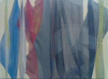 Color Painting, fabric, abstract, artwork by Aldo Carnevale