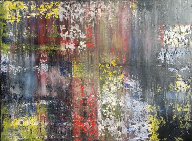 """Painting titled """"Chaos"""" by Alessandra Viola, Original Art, Acrylic Mounted on Stretcher frame"""