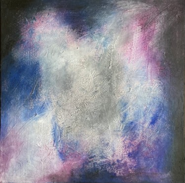 """Painting titled """"Twilight"""" by Alessandra Viola, Original Art, Acrylic Mounted on Stretcher frame"""