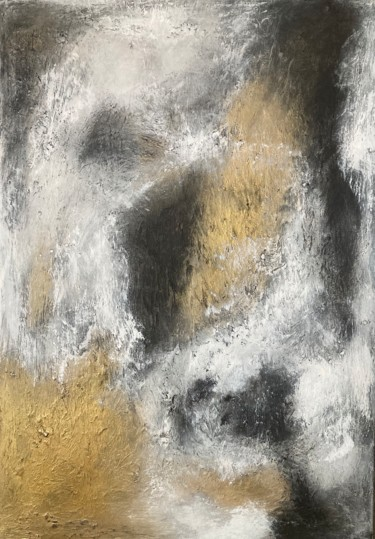 """Painting titled """"Beneath of Surface"""" by Alessandra Viola, Original Art, Acrylic Mounted on Stretcher frame"""