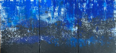 """Painting titled """"Night"""" by Alessandra Viola, Original Art, Acrylic Mounted on Stretcher frame"""