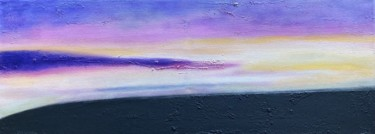 """Painting titled """"Feeling Peace"""" by Alessandra Viola, Original Art, Acrylic Mounted on Stretcher frame"""