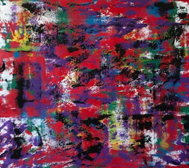 Color Painting, acrylic, abstract, artwork by Alexandr Numen
