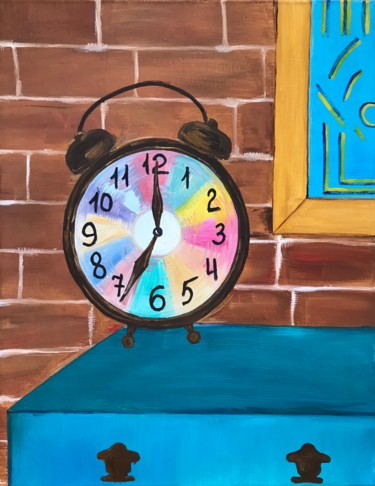 """Painting titled """"It's time now"""" by Alina Morozova, Original Art, Oil"""