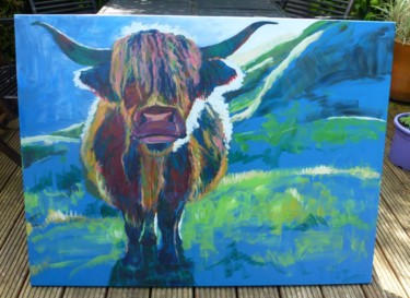 35,4x47,2x0,8 in © par Blue Cow Art