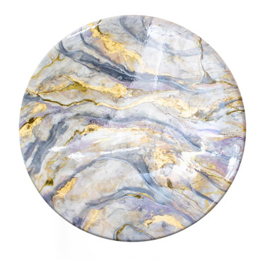 """Painting titled """"Abstraction. Marble."""" by Alla Broska, Original Art, Resin"""
