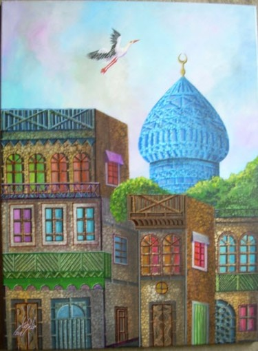 """Painting titled """"___A_a_O_1.jpg"""" by Mukheled Almukhtar, Original Art,"""