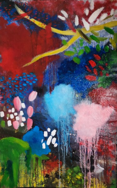 """Painting titled """"In"""" by Alysson Duarte Rodrigues (A. DUARTE), Original Art, Acrylic"""
