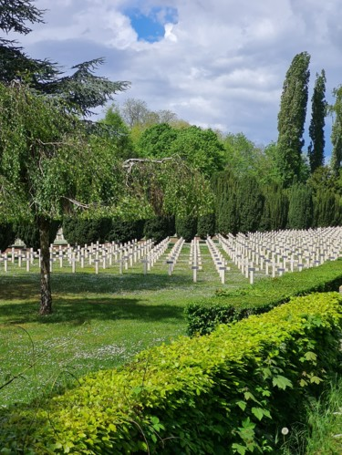 """Photography titled """"Cimetière militaire"""" by Amazing Pictures, Original Art, Non Manipulated Photography"""
