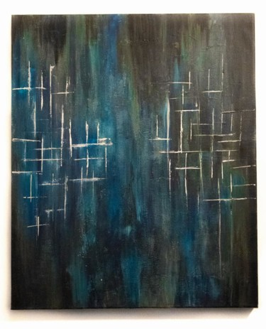 Painting, acrylic, abstract, artwork by Amel Ait Rabah