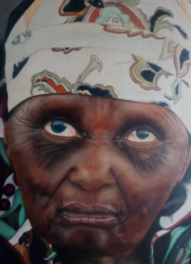"""Painting titled """"Blind"""" by Amelia Bothma, Original Art, Oil"""