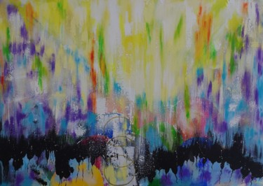 Color Painting, acrylic, abstract, artwork by Ana Maria Guta