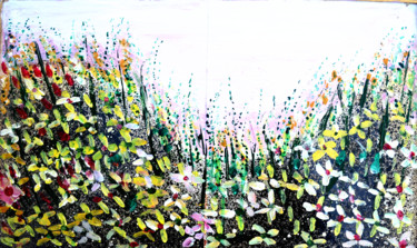 Nature Painting, other, abstract, artwork by Anandswaroop Manchiraju