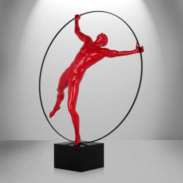 """Sculpture titled """"Circle of life (glo…"""" by Andrea Giorgi, Original Art, Resin"""