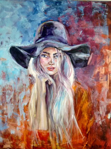 Painting, acrylic, expressionism, artwork by Andrea Gakova