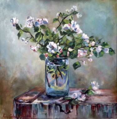 Painting, oil, impressionism, artwork by Andrea Gakova