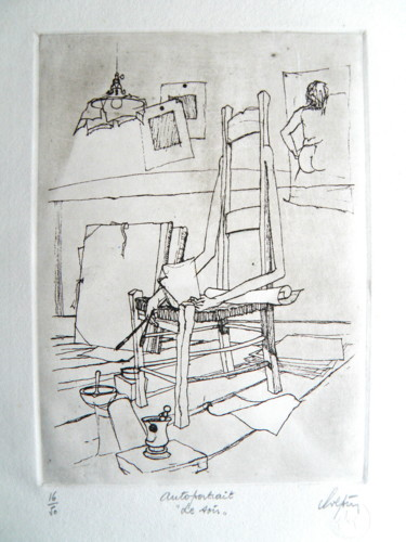 11.9x8.5 in ©1981 by André Colpin