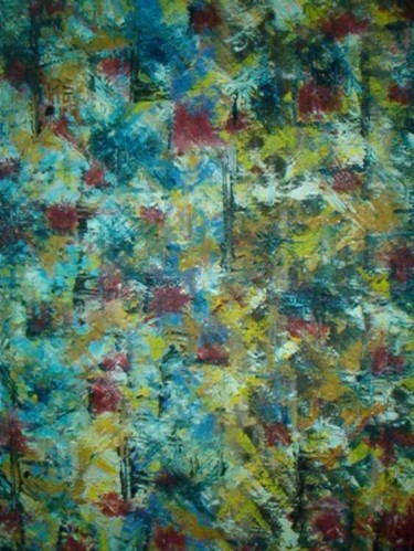 """Painting titled """"abstracto 2003 (Pin…"""" by Da Luz, Original Art,"""