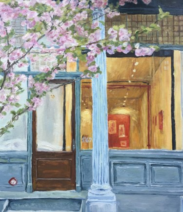 Architecture Painting, oil, impressionism, artwork by Andrew Kovyazin