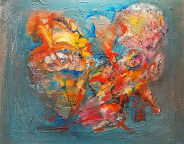 Painting, oil, abstract, artwork by Andrew Walaszek