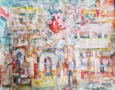 Painting, watercolor, abstract, artwork by Andrew Walaszek